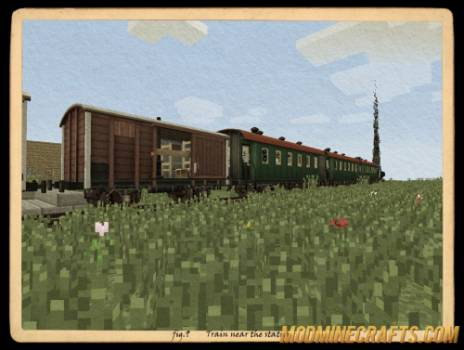 Minecraft mod showcase: rails of war!